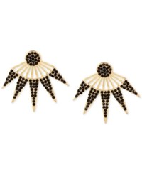 Inc International Concepts Pave Burst Earring Jackets Only At Macy's Black