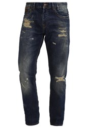 Ltb Servando Relaxed Fit Jeans Arvo Wash Dark Blue Denim