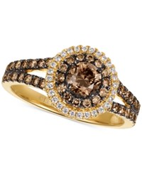 Le Vian Chocolatier Diamond Ring 1 Ct. T.W. In 14K Gold Yellow Gold