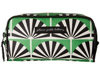 Petunia Pickle Bottom Glazed Powder Room Case Playful Palm Springs Cosmetic Case Green