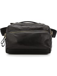Pierre Hardy Rectangular Satchel Black