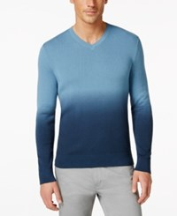 Vince Camuto Ombre V Neck Sweater