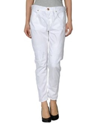 We Are Replay Denim Pants White