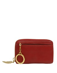 Tusk Donnington Zip Coin Card Case Red