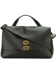 Zanellato Removable Strap Tote Black