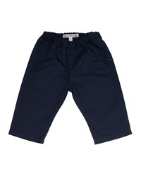 Bonpoint Woven Cotton Straight Leg Pants Navy Size 18M 2Y Size 18 Months