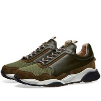 Zespa Zsp7 Canvas Sneaker Green