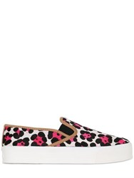 Carvela Kurt Geiger 30Mm Printed Ponyskin Slip On Sneakers