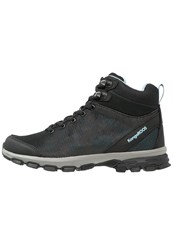 Kangaroos Ku Walking Boots Black Stone Blue