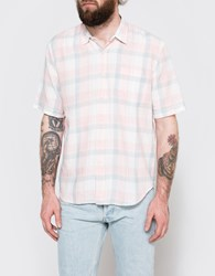 Our Legacy Short Sleeve Classic Shirt Pink