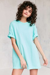 Silence And Noise All Day Oversized Tee Blue