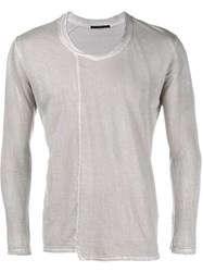 The Viridi Anne The Viridi Anne Viridi A Ls Top Grey