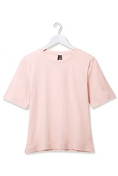 Taped Hem Tee By Boutique Pink
