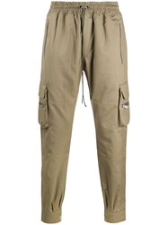 Represent Tapered Cargo Trousers Neutrals