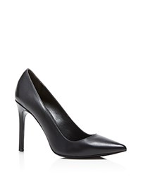 Charles David Caterina Pointed Pumps Black