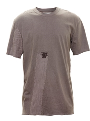 By Walid Vintage Lace T Shirt Grey