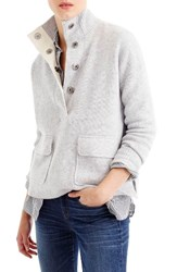 J.Crew Women's Snap Placket Pullover Sweater