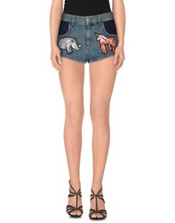 Au Jour Le Jour Denim Denim Shorts Women