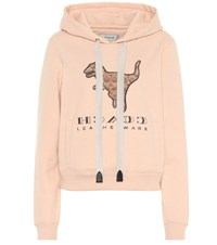 Coach Rexy Cotton Hoodie Pink