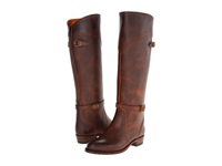 Frye Dorado Lug Riding Camel Antique Pull Up Women's Pull On Boots Tan