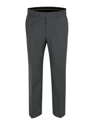 Pierre Cardin Stripe Regular Fit Trousers Grey