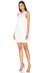 Pink Stitch Calibre Dress Ivory