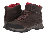 The North Face Hedgehog Hike Ii Mid Gtx R Bone Brown Rage Red Shoes