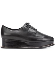 Opening Ceremony 'Eleanora' Lace Up Shoes Black