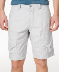 Inc International Concepts Men's Efron Cargo Shorts Only At Macy's Silver Stream