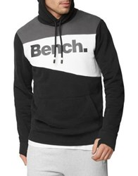 Bench Heritage Colorblocked Hoodie Navy
