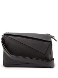 Loewe Puzzle Xl Grained Leather Bag Black