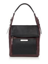 Kenneth Cole Hudson Hobo Bag Burgundy