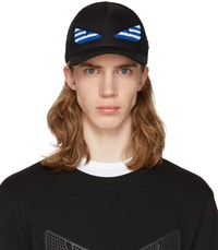 Fendi Ssense Exclusive Black Bag Bug Cap
