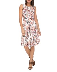 B Collection By Bobeau Skye Sleeveless Floral Print Knit Dress Washed Floral