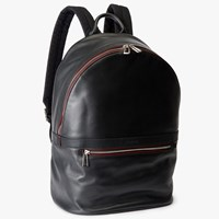 Paul Smith Ps By Calf Leather Backpack Black