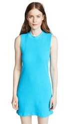 Cotton Citizen Monaco Mini Dress Aqua