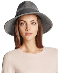 Bettina Wool Fedora Gray