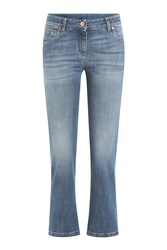 Brunello Cucinelli Cropped Skinny Jeans Blue