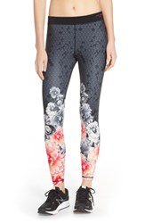 Women's Ted Baker London 'Monorose Border' Leggings