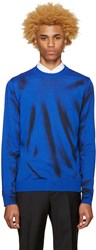 Moschino Blue Paint Pullover