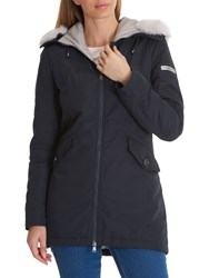 Betty Barclay Crossover Down Parka Deep Navy