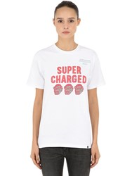 Xlarge Super Charged Cotton Jersey T Shirt White