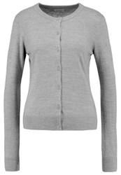 Jdyfavorite Cardigan Light Grey Melange Mottled Light Grey