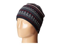 Tommy Hilfiger Fair Isle Hat Navy Caps