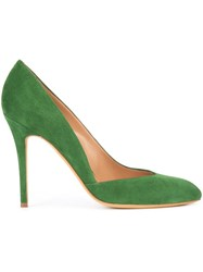 Alexa Wagner Ebony Pumps Green