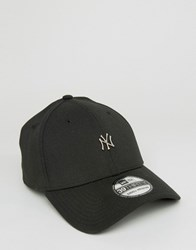 New Era 39Thirty Fitted Cap Ny Yankees Mini Logo Black