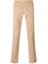 Armani Jeans Straight Leg Chinos Nude And Neutrals