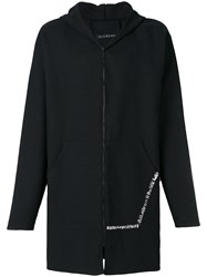 Alchemy Hooded Coat Black