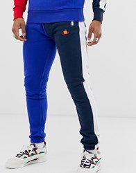Ellesse Lincoln Contrast Joggers In Blue