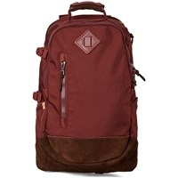 Visvim Ballistic Backpack 20L Burgundy